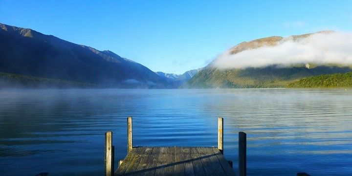Lake Rotoiti, Nelson Lakes National Park, South Island, New Zealand, Oceania