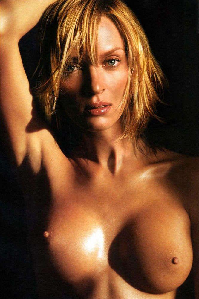 thurman nude fakes Uma