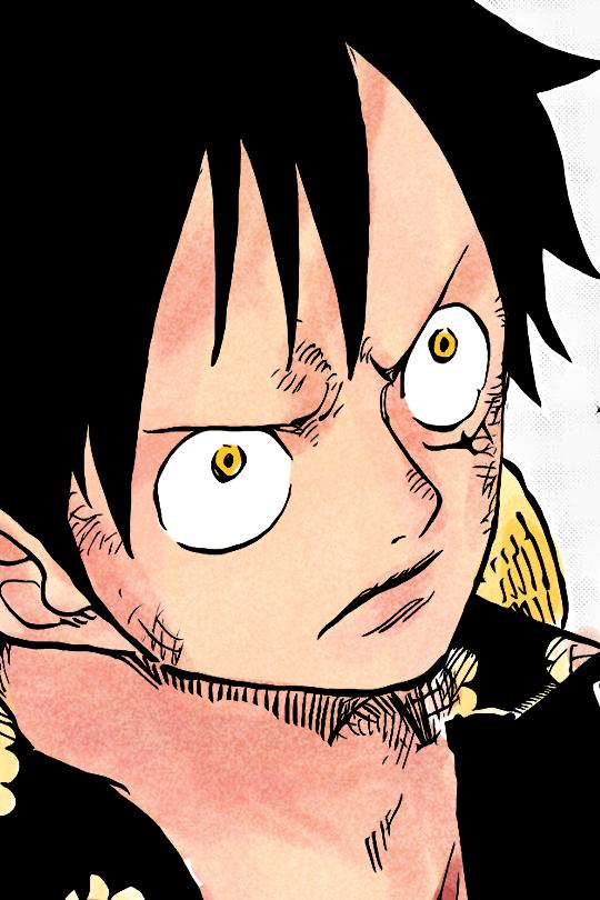 Fierce One Piece Comic One Piece Anime One Piece Luffy