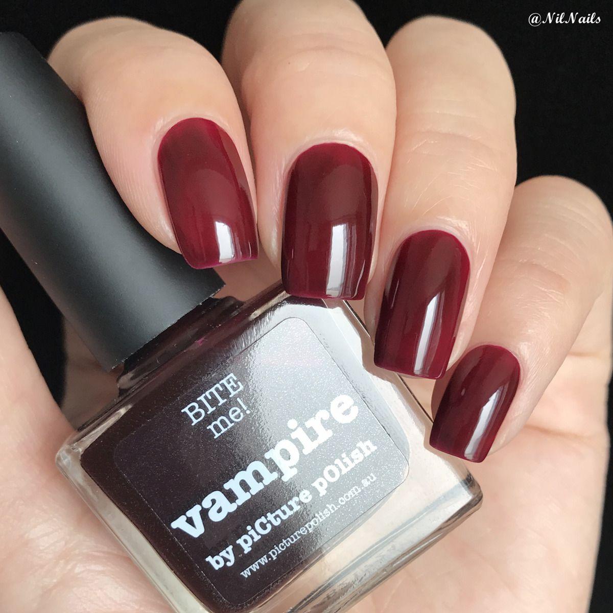 vampire | Hair, Nails, and Make Up | Pinterest | Nail polish online ...