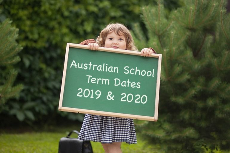 ALL the Australian School Term Dates for 2019 and 2020