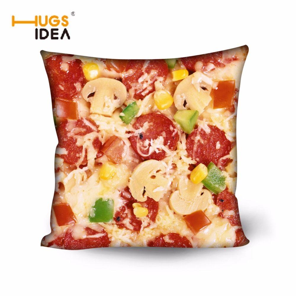 Hugsidea d creative food design cojines home decorative