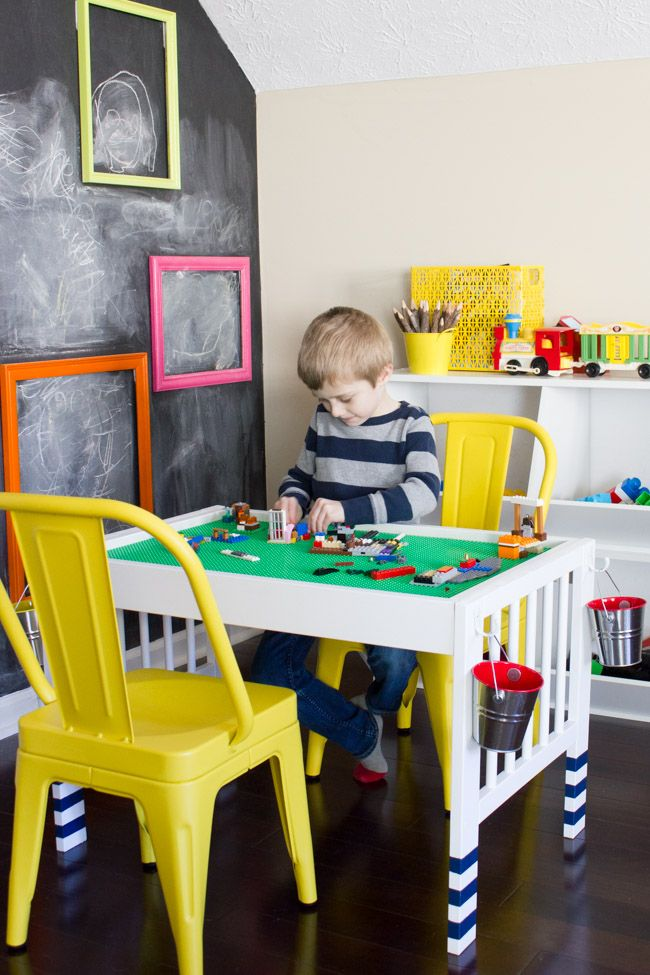 Ikea Hack Turn A Baby Changing Table Into A Lego Table Lego Table Diy Baby Changing Tables