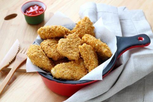 Selbst gemachte Chicken Nuggets
