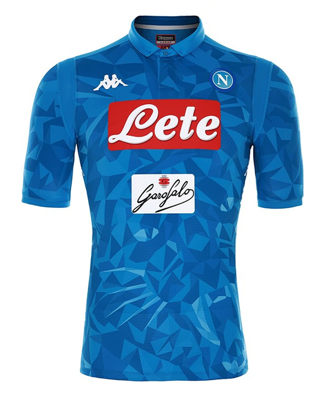 00d7f9bea77 Napoli 18/19 Home Men Soccer Jersey Personalized Name and Number ...