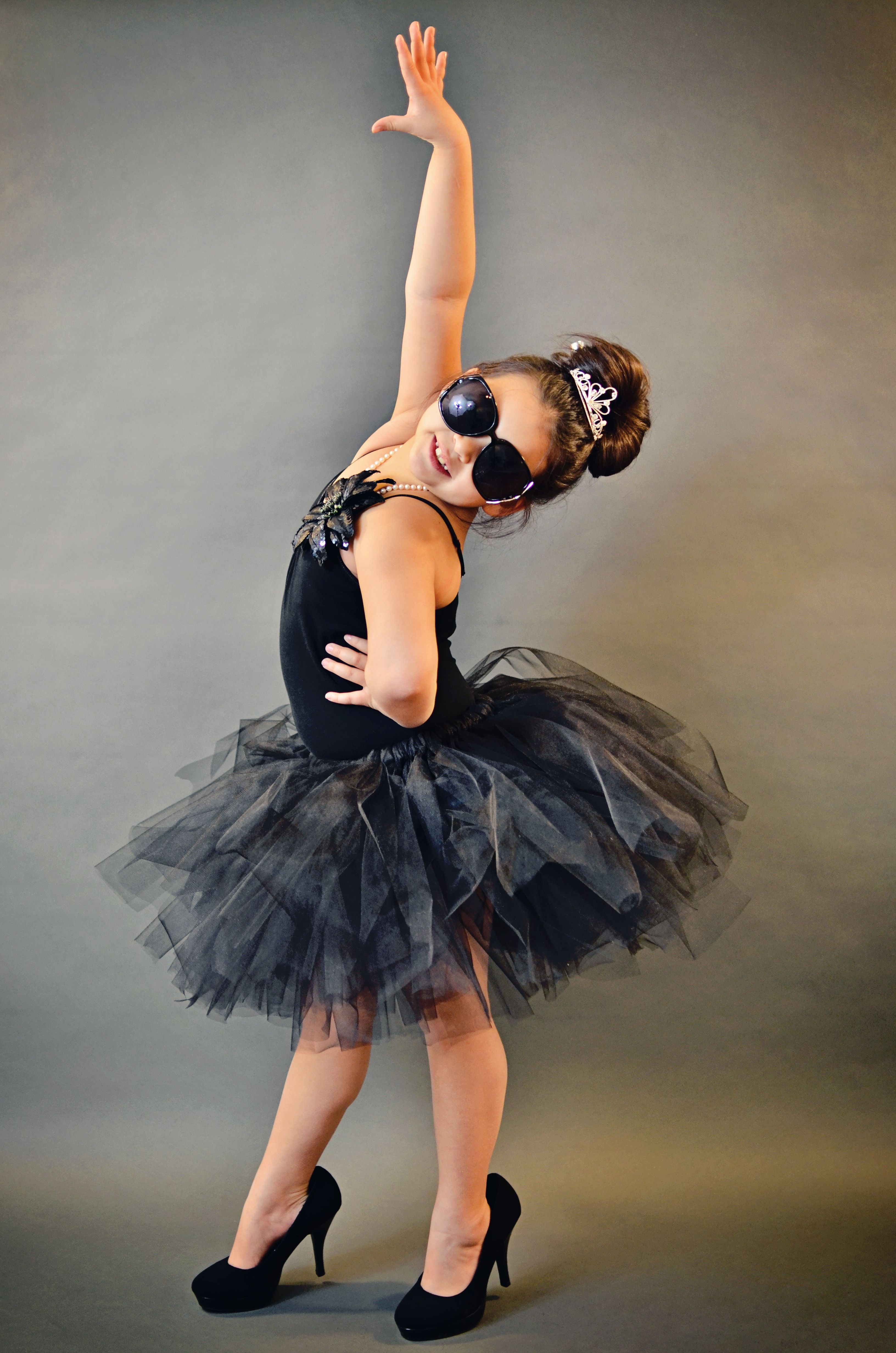 Black tutu dress dance