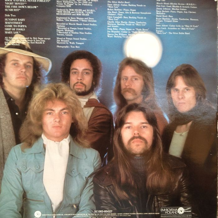 Bob Seger During Bob Seger And The Silver Bullet Band In Concert At Https Buytickets Com Bob Seger And The Silver Bull Bob Seger Rock And Roll Vinyl Music