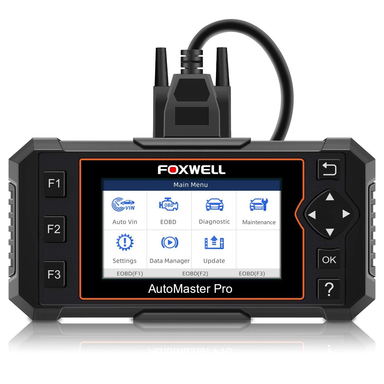 Foxwell nt614 elite obdii car diagnostic tool transmission