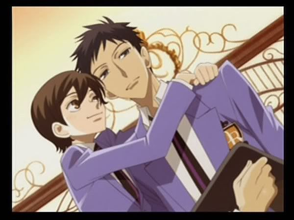 Mori and Haruhi from Ouran High School Host Club | Ouran