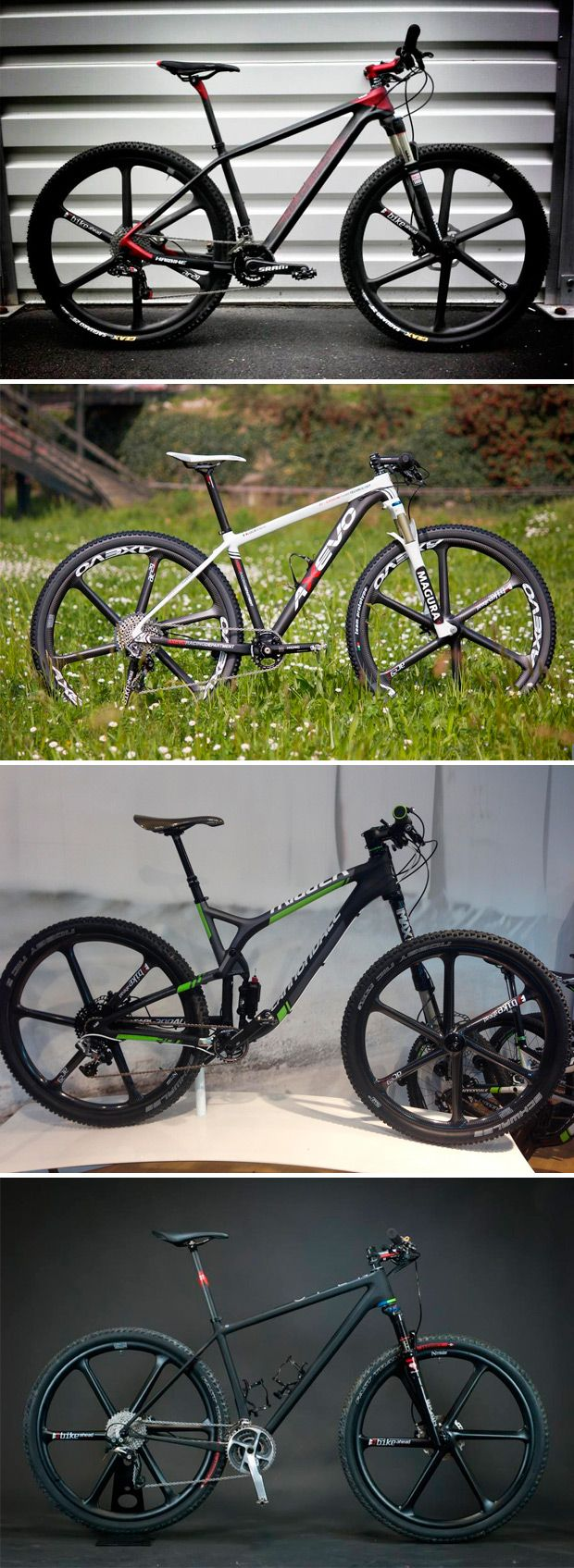 Las exclusivas ruedas de Bike Ahead Composites, disponibles en ...