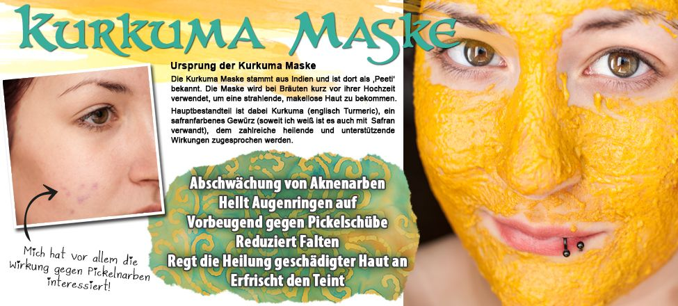 Cherry Bomb Secrets Of India Diy Kurkuma Maske Gegen Aknenarben