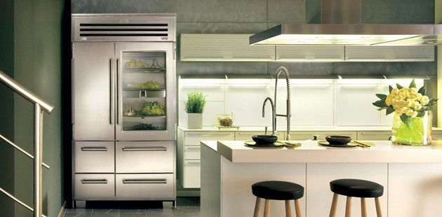 Sub Zero Pro 48 With Glass Door If This Was In My Kitchen I Could