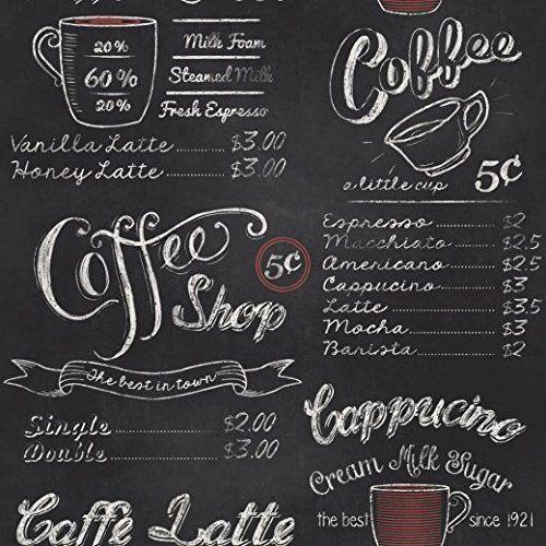 Rasch Portfolio Vintage Retro Coffee Shop Café Black White