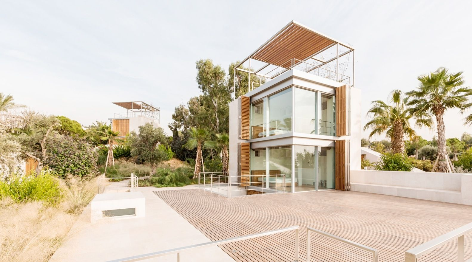 Gallery of aamchit courtowers hashim sarkis 12 a vista modern house design