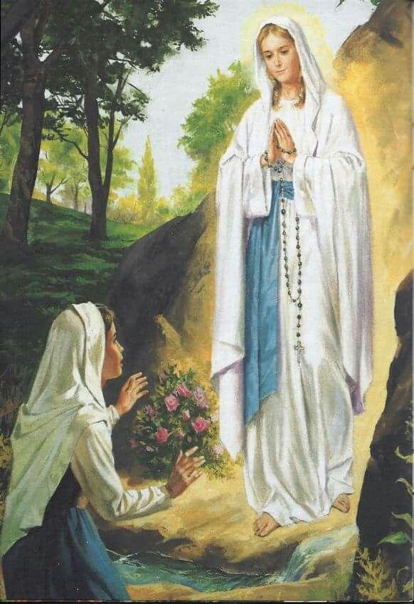 Rosary Ave Maria Bogorodica Pinterest Virgem Maria Virgem