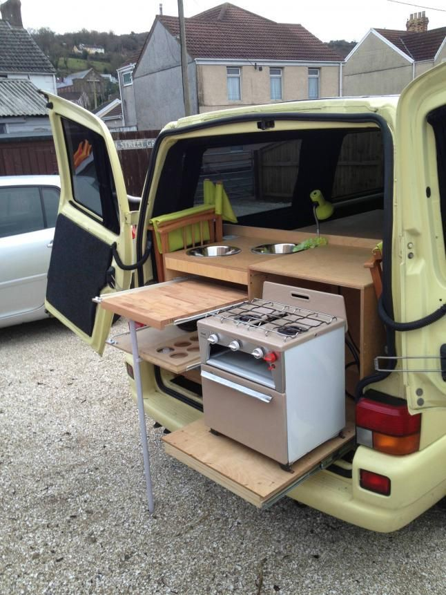 Vw T4 Forum Rear Kitchen