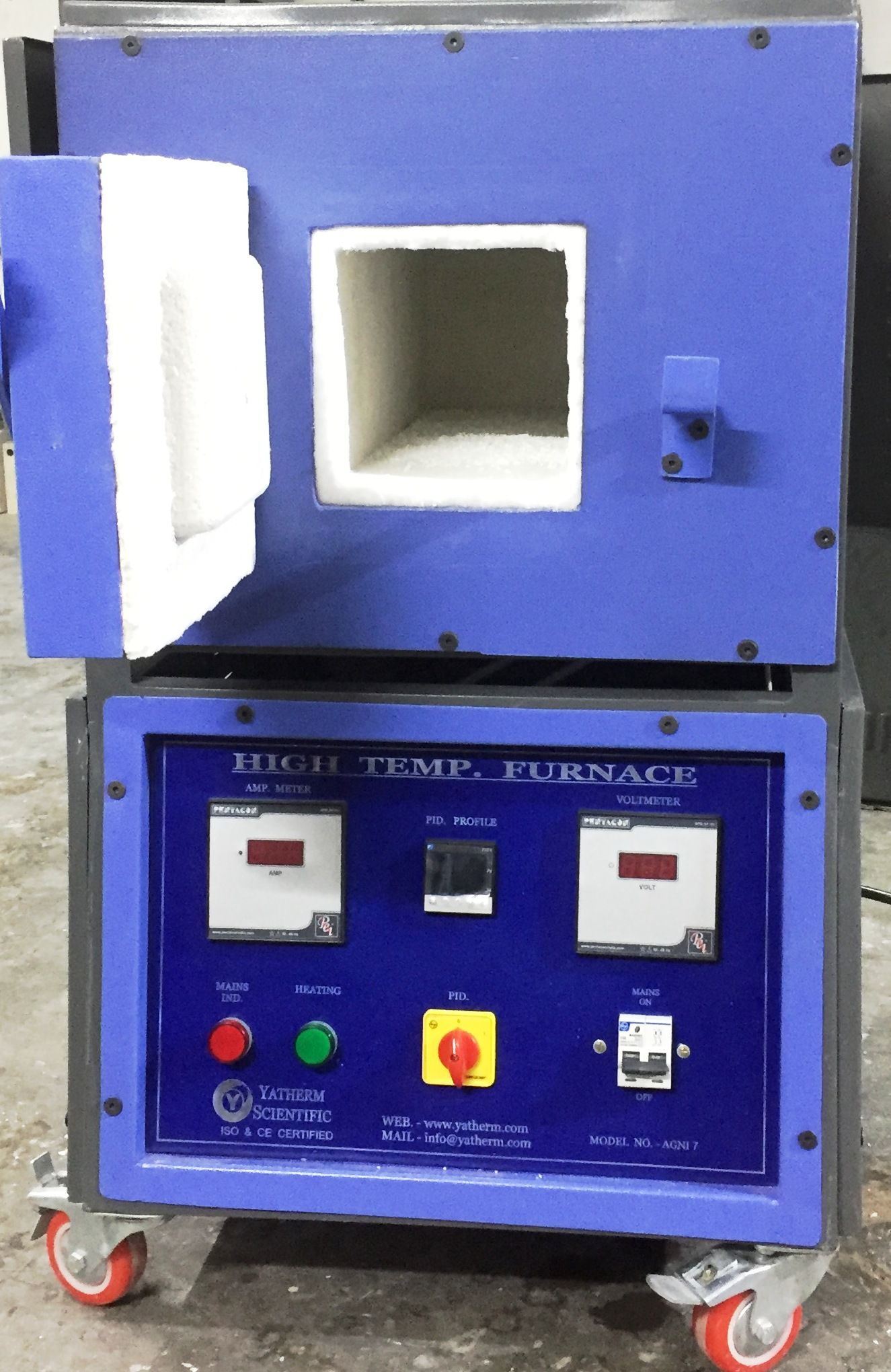 High Temperature Muffle Furnace Furnace Lab Equipment Heating And Cooling