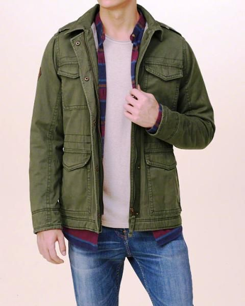 hollister jacket review
