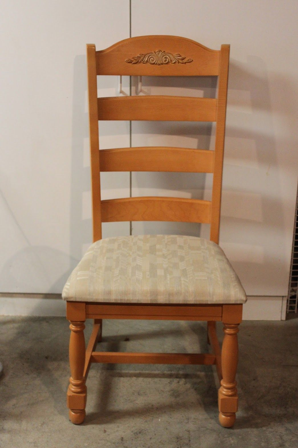 Before Photo Broyhill Fontana Chair Painted Furniture Furniture Dining Chairs