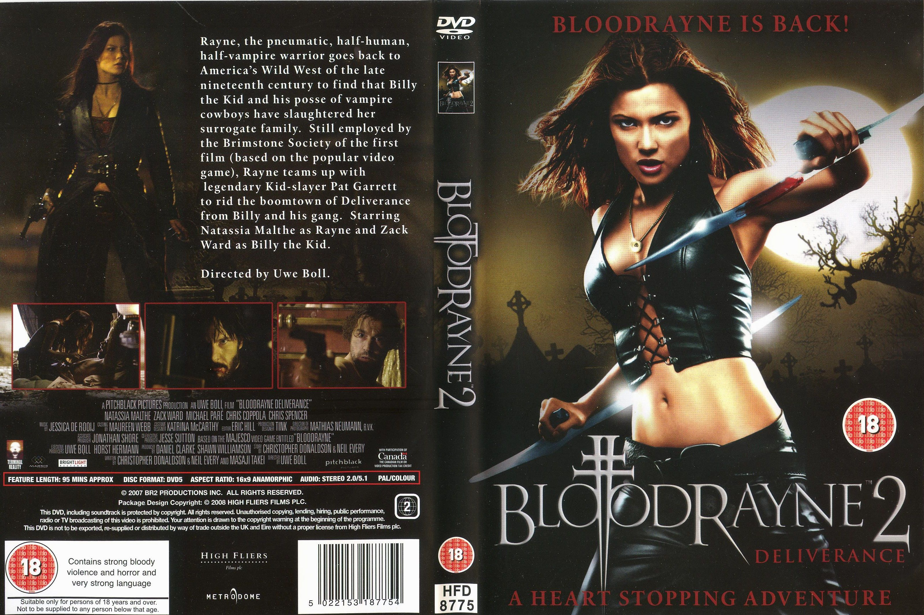 Bloodrayne 2 Deliverance 2007 Canada Germany Billy The Kids