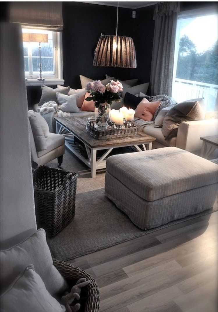 Cozy Living Room: Detox Your Home