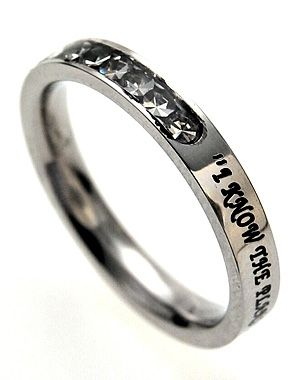 Princess Cut - I Know - Christian Rings for $27.95 | notw.com I had this ring but lost it! I would love to buy it again one day. It meant a lot to me.