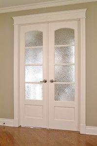 Porte fran aise double avec verrou encastr et astragale for Decoration porte francaise