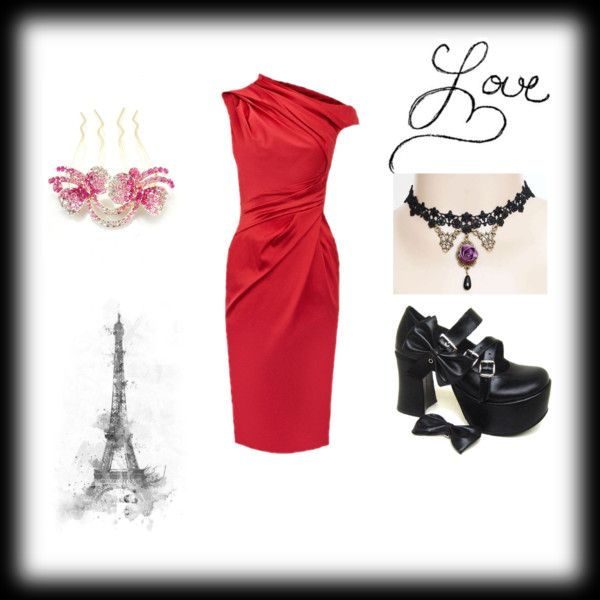 """""""Red mother dress"""" by doris009 on Polyvore"""