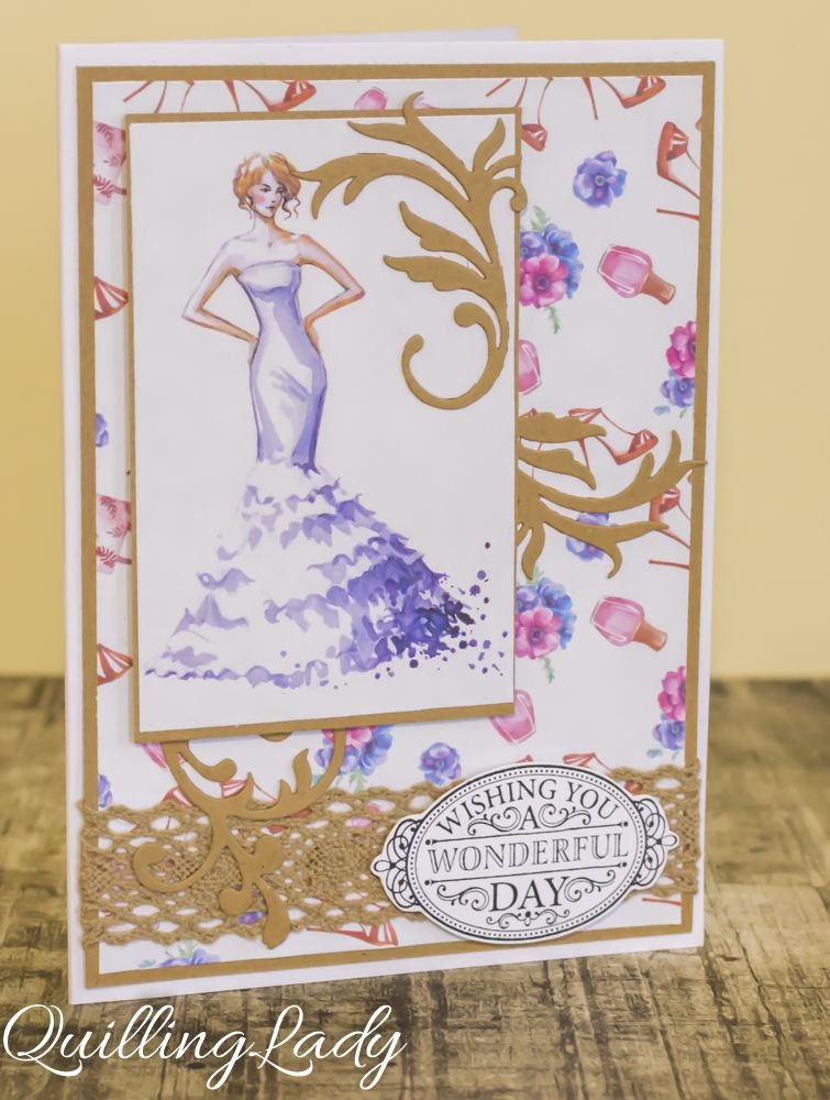 A set of four cards for special ladies :) I hope to make a few more soon.     Happy crafting!