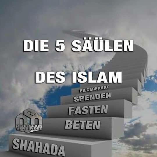 Die 5 Säulen des Islams ❤️❤️