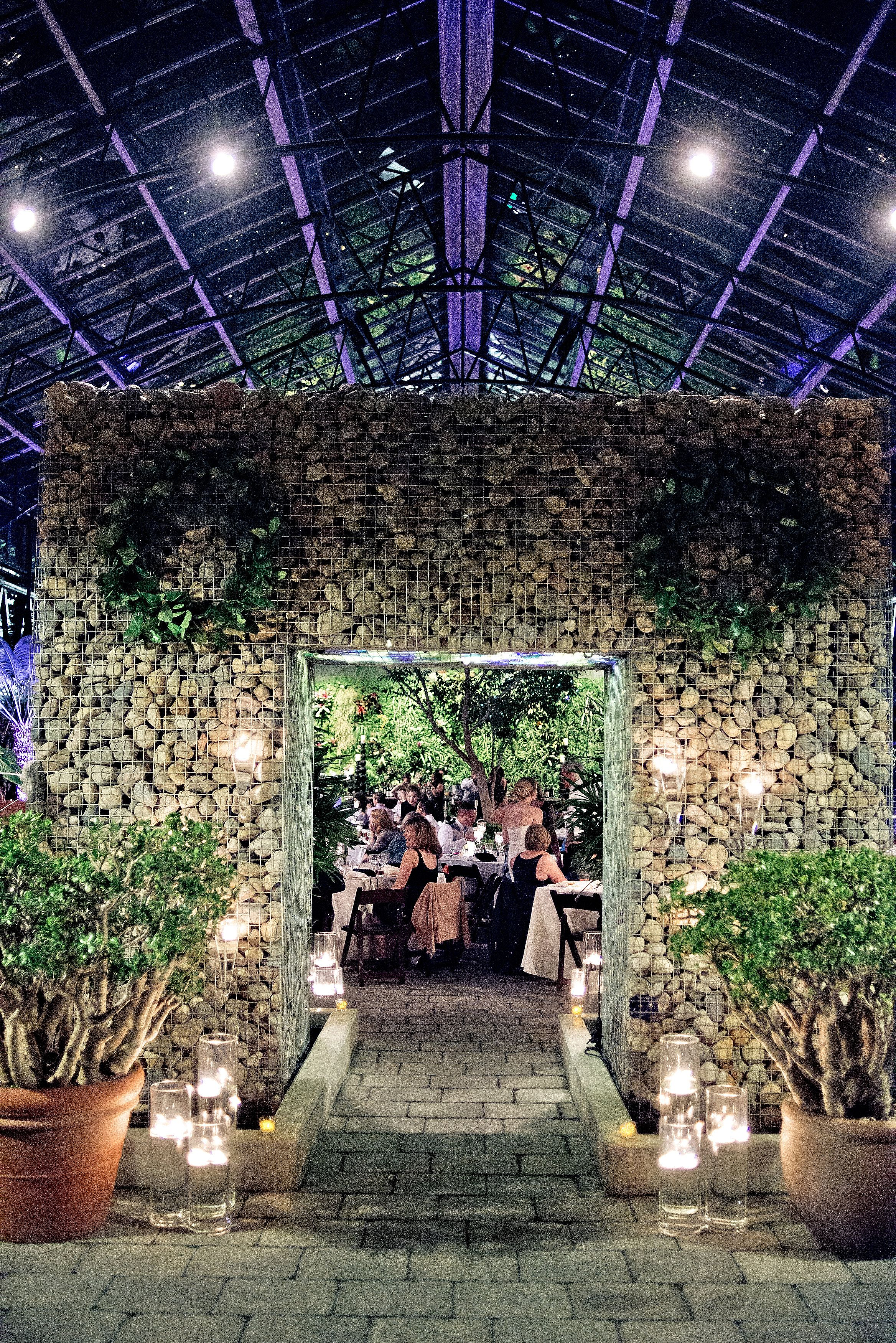 The Best Venue For A Winter Wedding Reception Or Ceremony In Michigan Botanical Garden Setting West Bloomfield Suburban Detroit