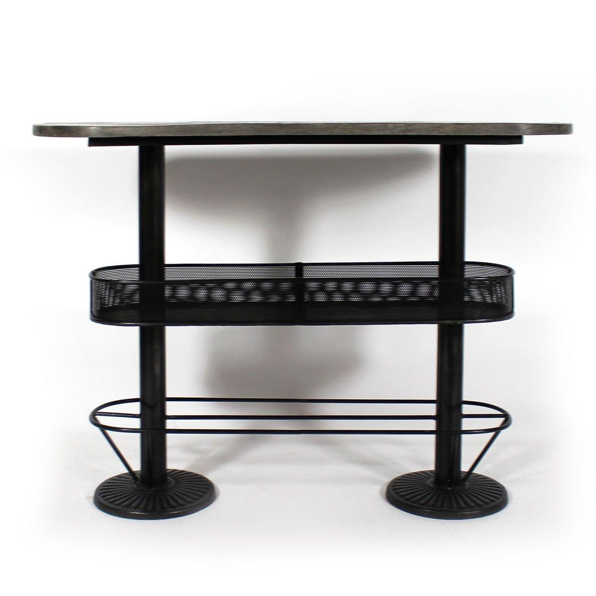 table cuisine haute avec rangement