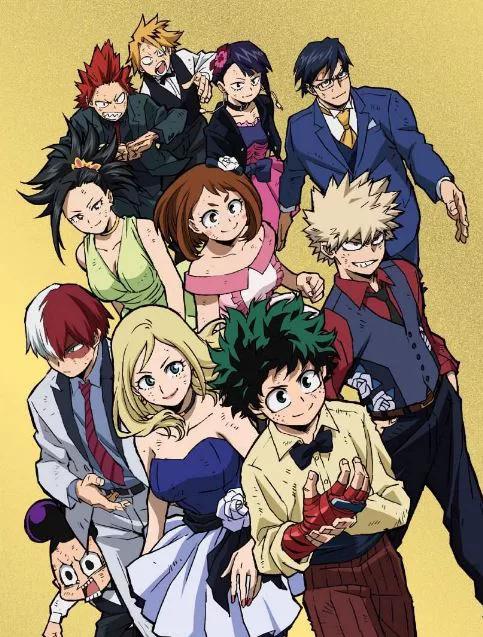 Boku No Hero Shounen Jump S Next Big Three Manga Hero Movie My Hero Boku No Hero Academia