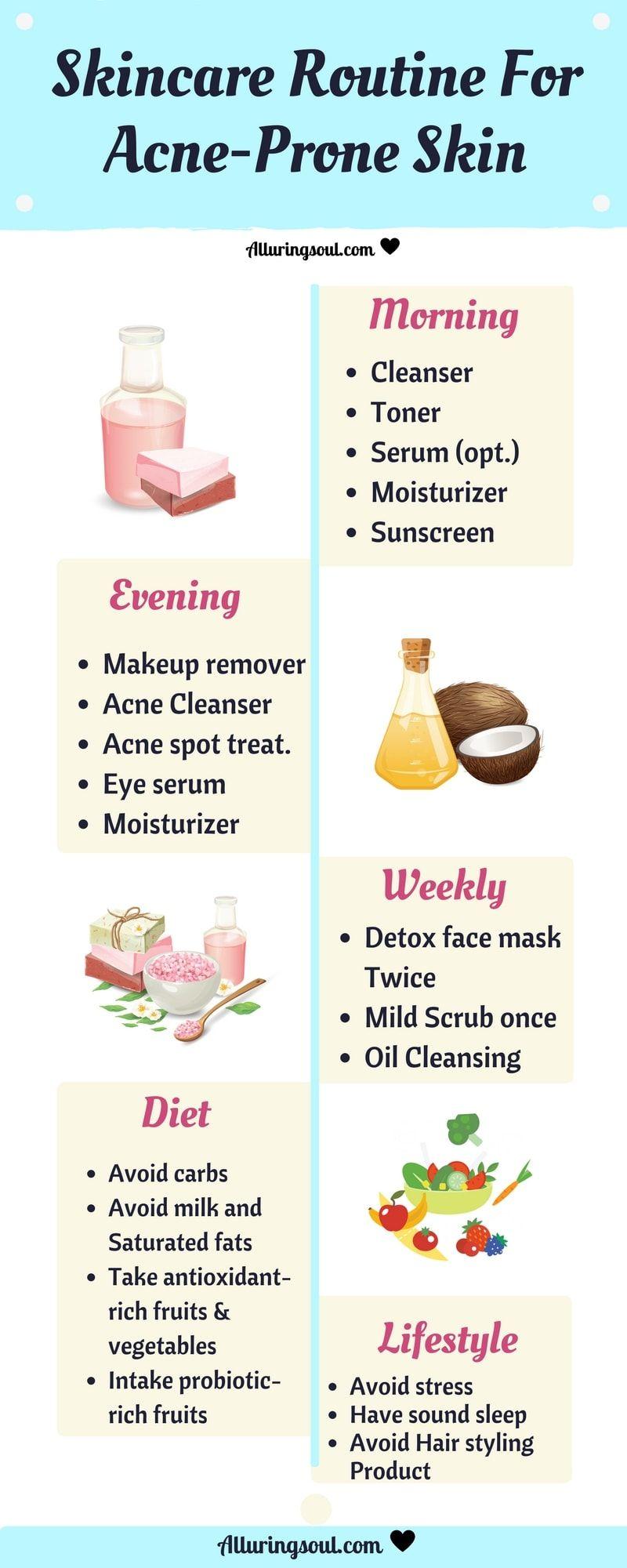 Natural Skin Care Guide For Acne Prone Skin Skin Care Guide Acne Prone Skin Skin Care Regimen
