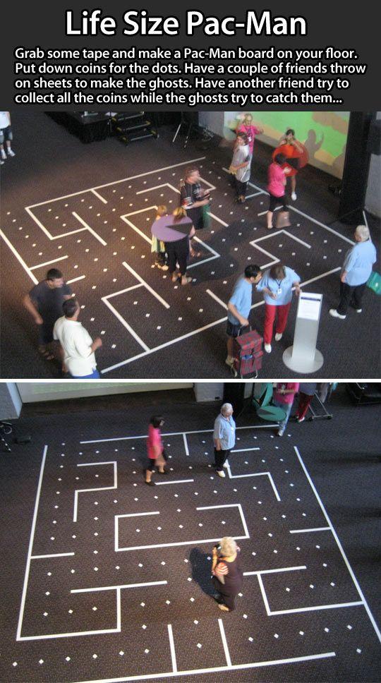 Life Size Pac Man Ideas For Kids Pinterest Juegos Gigantes