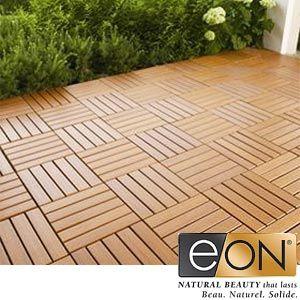 Eon 174 Deck And Balcony Tiles With Cedar Finish Outdoor