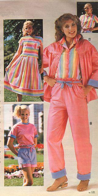 1983 spring summer sears catalog 1980 1989 pinterest