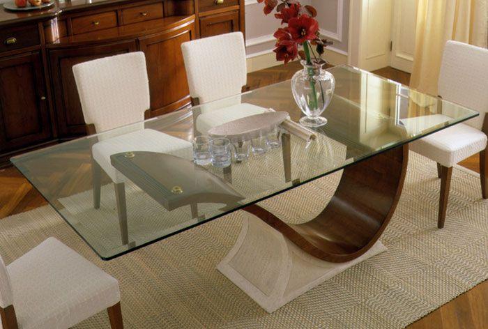 Mesa Para Sala De Jantar Com Vidro ~ mesas de jantar de vidro pesquisa google chuveiros mesa jantar limpar