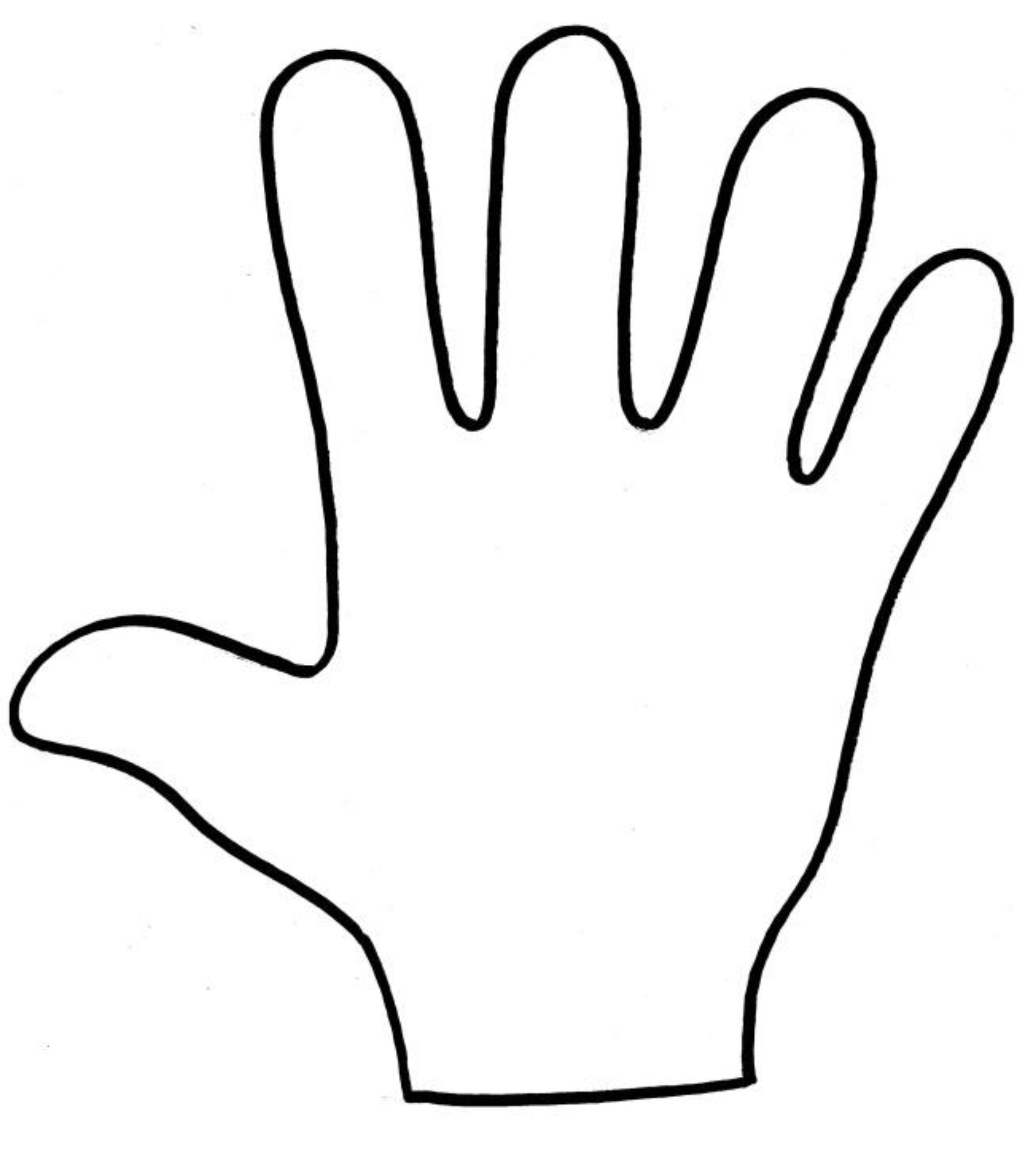 Dibujo mano buscar con google decoracion aula - Ninos pintando con las manos ...