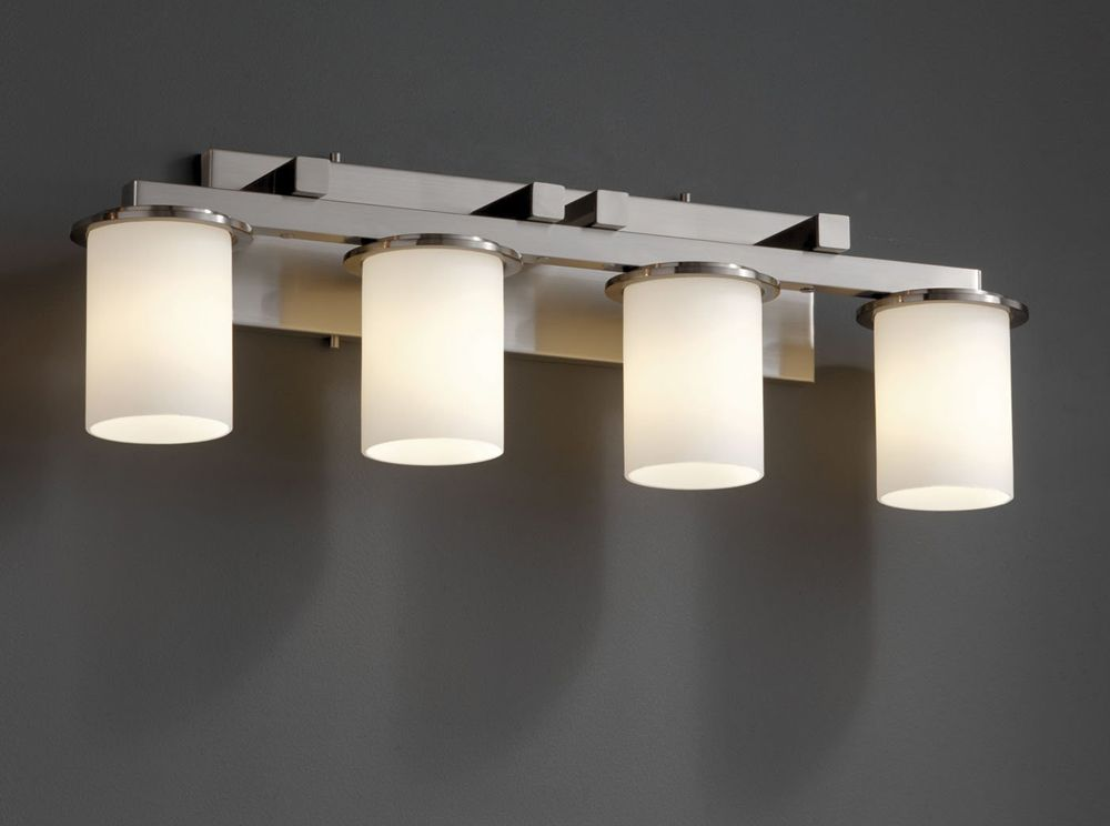 Bathroom Light Fixture With Electrical Outlet Attached Rockdov