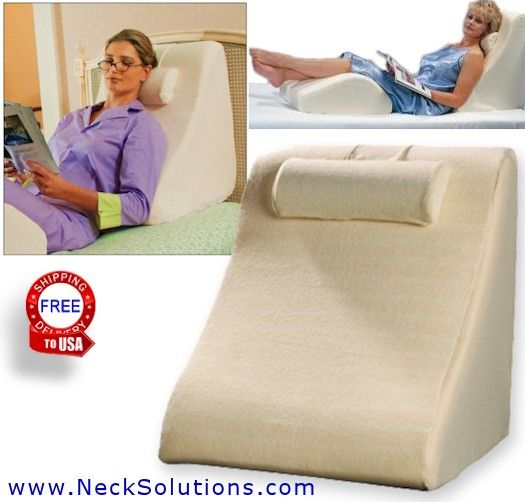 Bed Wedge Pillow Leg Body Wedge Relieves Stress Bed Wedge