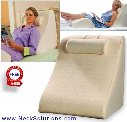bed wedge pillow leg body wedge