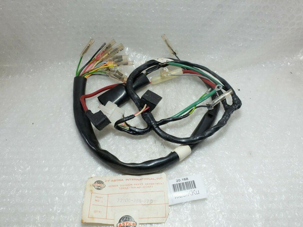 Honda Cg110 Cg 110 May Fit Jx110 Wire Harness Nos Genuine 32100 398 970 Honda
