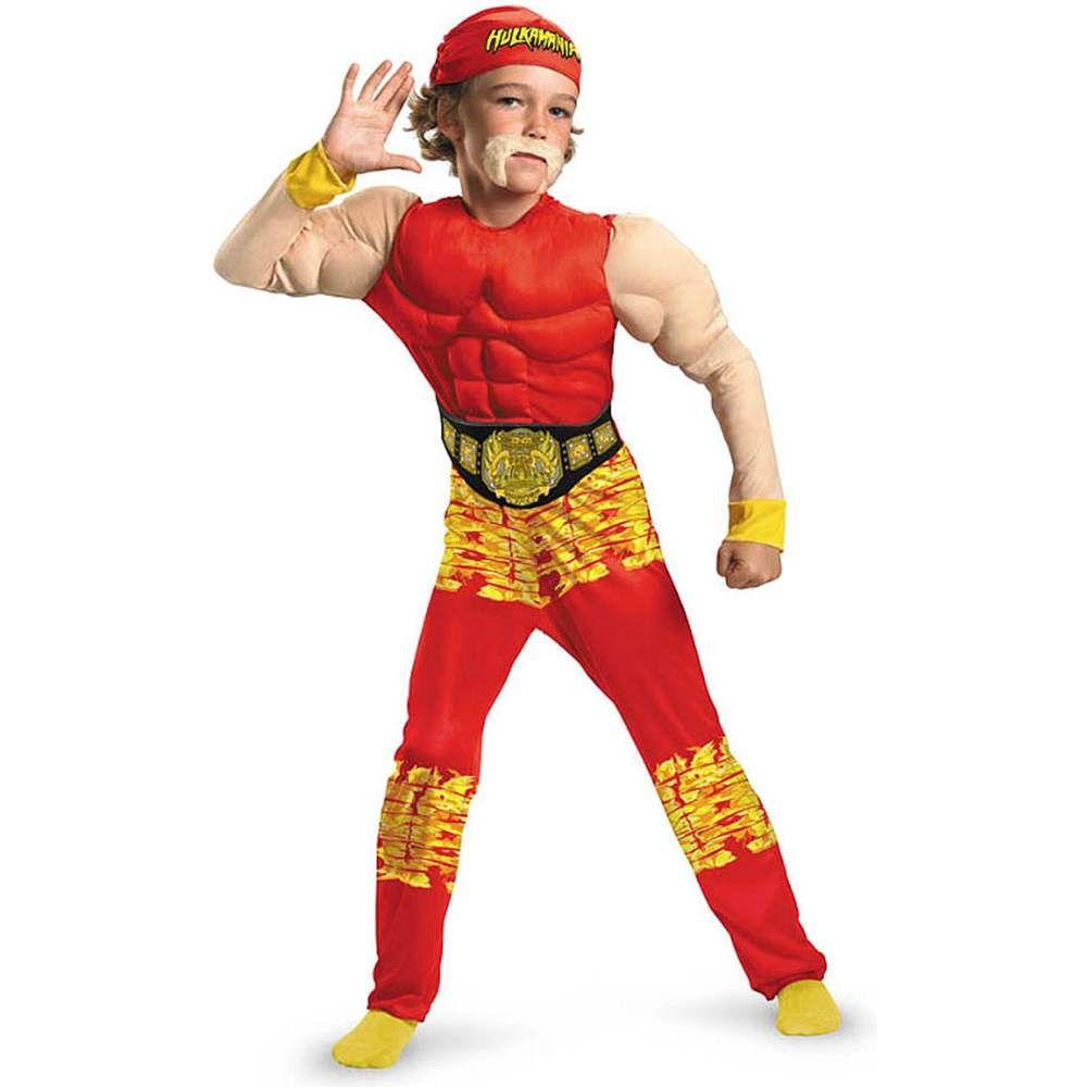 hulk hogan costume ebay