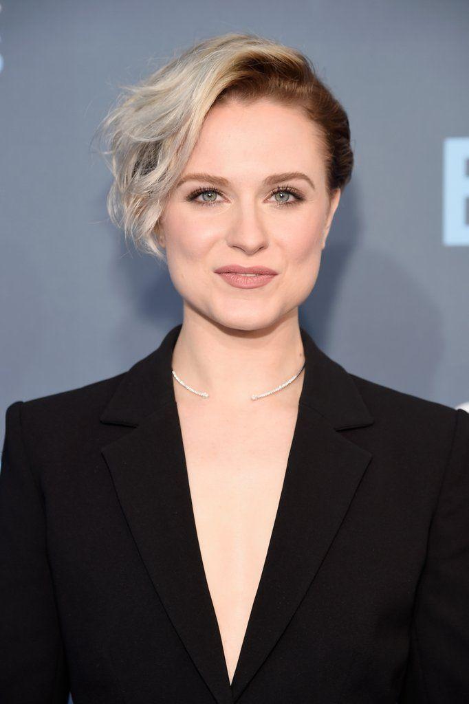 Evan Rachel Woodu0027s Short Hair Color Is