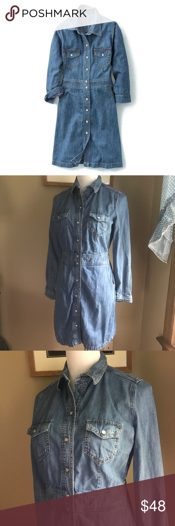 Boden button down denim dress size boden conditioning and