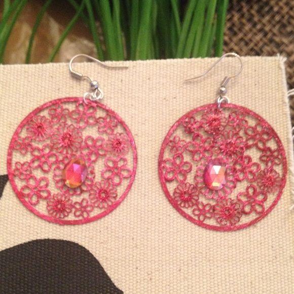 Earrings Red dangle earrings light weight. Daffodil90 Jewelry Earrings
