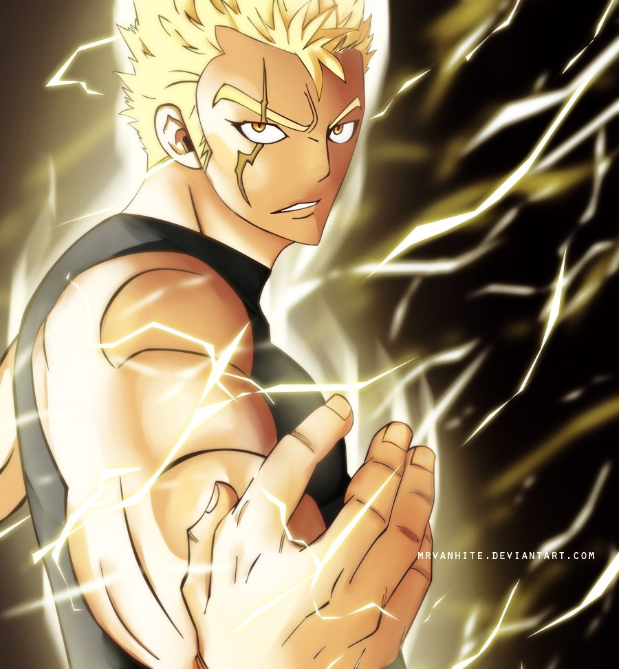 Fairy Tail Fantasy Anime Laxus Dreyar | Anime - Fairy Tail ...