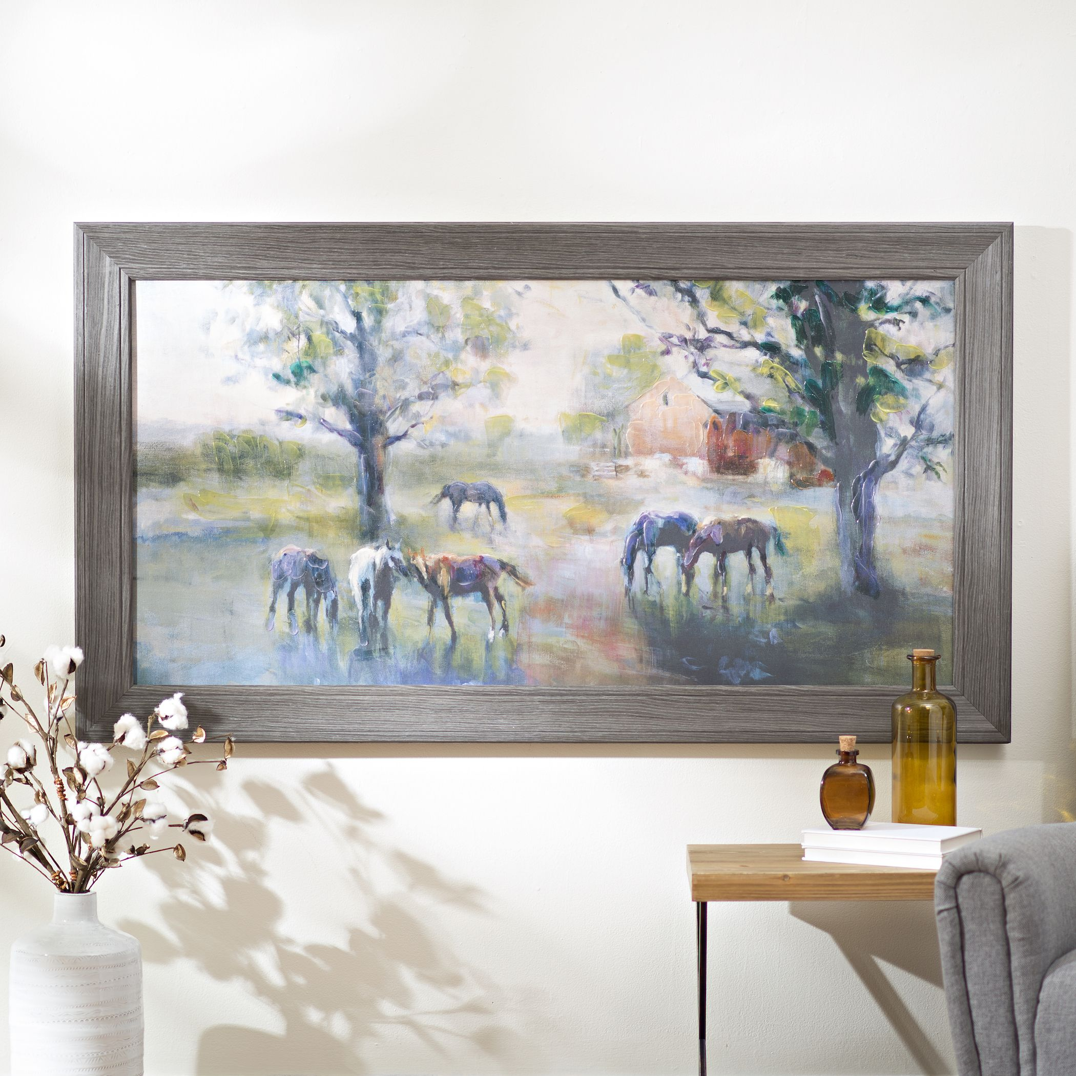 Create Your Own Gallery Wall With Charming Canvas Art