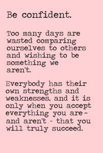 To be more confident in myself. To be okay with the fact that I am who I am, & I like what I like & that's okay because I accept myself for all of it. confidence boost, confidence quotes, becoming confident #confidence #confident
